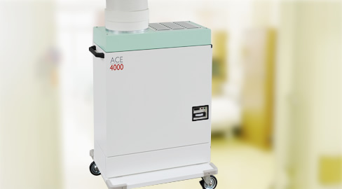 多目的 空気清浄機 ACE-4000(HEPAフィルター付空気清浄機)